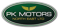 PK Motors Golf Day Logo